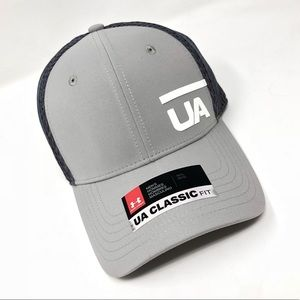 Under Armour UA Classic Fit Men's Cap M/L Gray